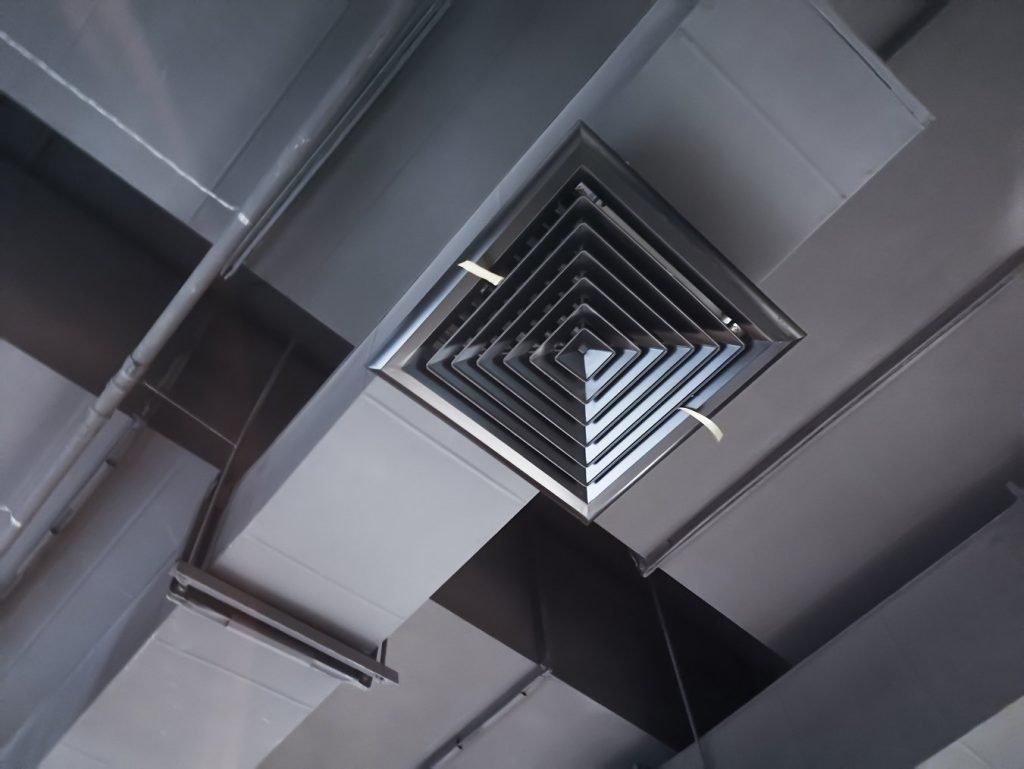 sistema ductos aire acondicionado